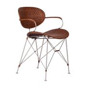 David Francis Furniture Zen Sapporo Dining Chair; Pecan