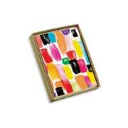 "Viabella, 10 Pc, Love Mother Earth Boxed Note Cards Brush Strokes, Multicolor,  4"" x 5.25"", EA (17999)"