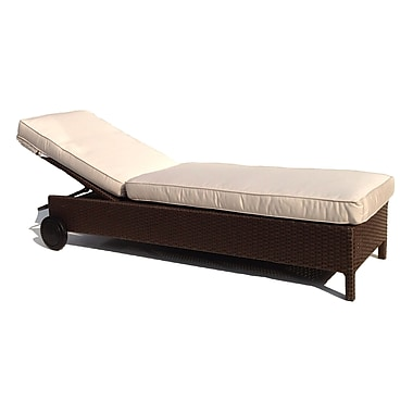 ElanaMar Designs Sonoma Chaise Lounge w/ Cushion