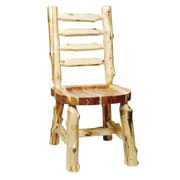 Fireside Lodge Traditional Cedar Log Solid Wood Dining Chair