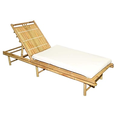 Bamboo54 Chaise Lounge w/ Cushion