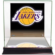 Steiner Sports Logo Background Case; Los Angeles Lakers