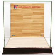 Steiner Sports Basketball Court Background Case; Los Angeles Clippers