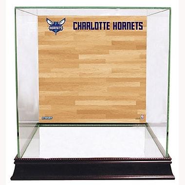 Steiner Sports Basketball Court Background Case; Charlotte Bobcats