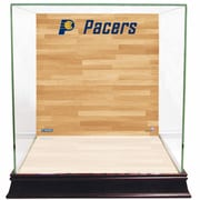 Steiner Sports Basketball Court Background Case; Indiana Pacers