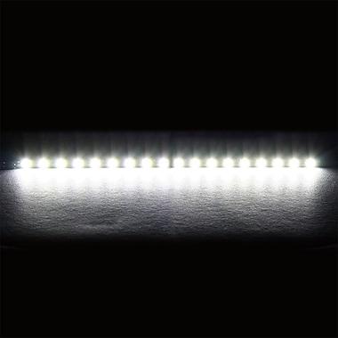 Nanoxia – Barre lumineuse ultra rigide à DEL CoolForce de 20 cm, blanc (NRLED20W), anglais