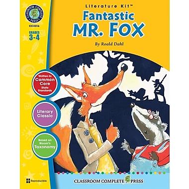 Livre numérique : Literature KitsMC – Fantastic Mr. Fox, ressource pédagogique, 3e-4e année, Classroom Complete Press