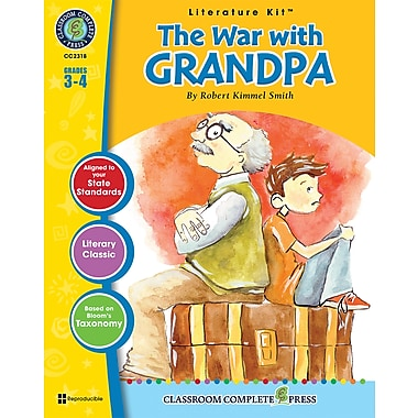 eBook: Literature Kits™ The War with Grandpa, Literature Kit, Grades 3-4, by Classroom Complete Press