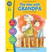 Livre numérique : Literature KitsMC – The War with Grandpa, ressource pédagogique, 3e-4e année, Classroom Complete Press