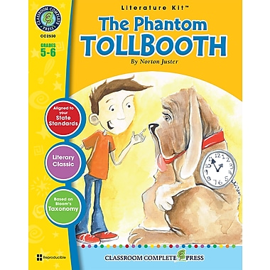 eBook: Literature Kits™ The Phantom Tollbooth, Literature Kit, Grades 5-6, by Classroom Complete Press