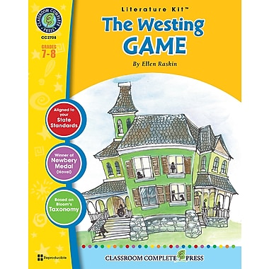 eBook: Literature Kits™ The Westing Game, Literature Kit, Grades 7-8, by Classroom Complete Press