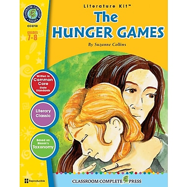 eBook: Literature Kits™ The Hunger Games, Literature Kit, Grades 7-8, by Classroom Complete Press