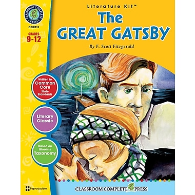 eBook: Literature Kits™ The Great Gatsby, Literature Kit, Grades 9-12, by Classroom Complete Press