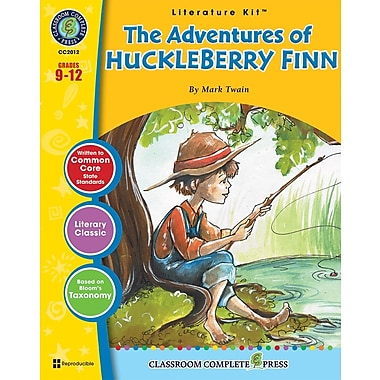 eBook: Literature Kits™ The Adventures of Huckleberry Finn, Literature Kit, Grades 9-12, by Classroom Complete Press