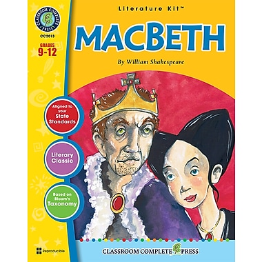 eBook: Literature Kits™ Macbeth, Literature Kit, Grades 9-12, by Classroom Complete Press
