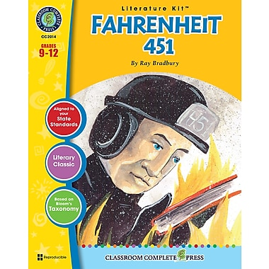 eBook: Literature Kits™ Fahrenheit 451, Literature Kit, Grades 9-12, by Classroom Complete Press