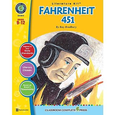 Livre numérique : Literature KitsMC – Fahrenheit 451, ressource pédagogique électronique, 15-18 ans, Classroom Complete Press