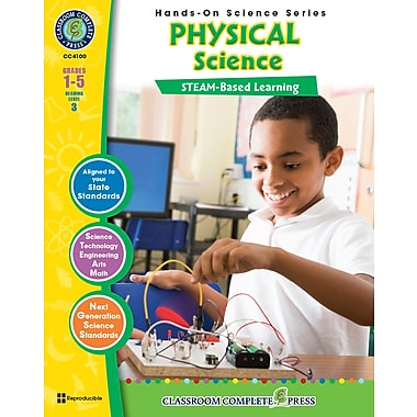 eBook: Science Hands-On, Physical Science, Grades 1-5, by Classroom Complete Press