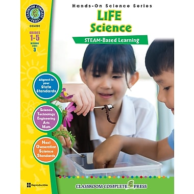 Livre numérique : Science Hands-On – Life Science, 1re à 5e année, Classroom Complete Press