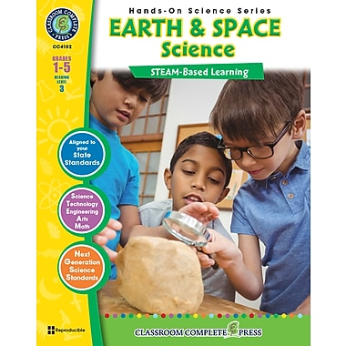 eBook: Science Hands-On, Earth & Space Science, Grades 1-5, by Classroom Complete Press
