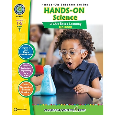 Livre numérique : Science Hands-On – Science Big Book, 1re à 5e année, Classroom Complete Press