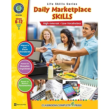 eBook: Social Studies Daily Marketplace Skills, Grades 6-12, by Classroom Complete Press