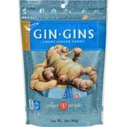 Ginger People Ginger Chews Peanut - 3 oz - Case of 24