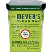 Mrs. Meyer's Soy Candle - Iowa Pine - 4.9 oz - Case of 6