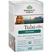Organic India Decaf Tulsi Original Tea Bags, 18 /Box (71551-MP)