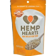 Manitoba Harvest Natural Hemp Hearts - Case of 12 - 2 oz