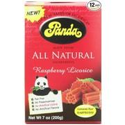 Panda Raspberry Licorice - 7 oz - Case of 12