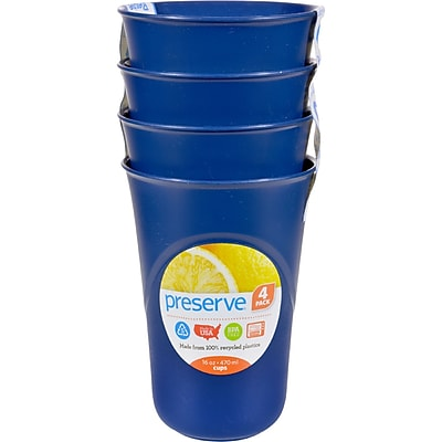 Preserve Everyday Cups - Midnight Blue - Case of 8 - 4 Packs 2399175