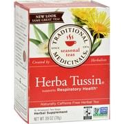 Traditional Medicinals Herba Tussin Herbal Tea - 16 Tea Bags - Case of 6