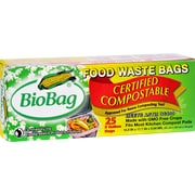 BioBag 3 Gallon Compost/Waste Bags - Case of 12 - 25 Count