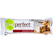 Zone Perfect Nutrition Bar, Cinnamon Roll, 12/Pack, 1.76 oz