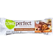 Zone Perfect Nutrition Bar, Chocolate Peanut Butter, 12/Pack, 1.76 oz