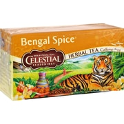 Celestial Seasonings Herbal Tea Caffeine Free Bengal Spice - 20 Tea Bags - Case of 6