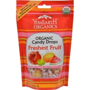 Yummy Earth Organic Candy Drops Freshest Fruit, 3.3 oz, Case of 3
