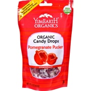 Yummy Earth Organic Candy Drops Pomegranate Pucker, 3.3 oz, Case of 6