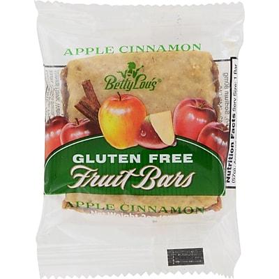 Betty Lou's Gluten Free Fruit Bars Apple Cinnamon - 2 oz - Case of 12