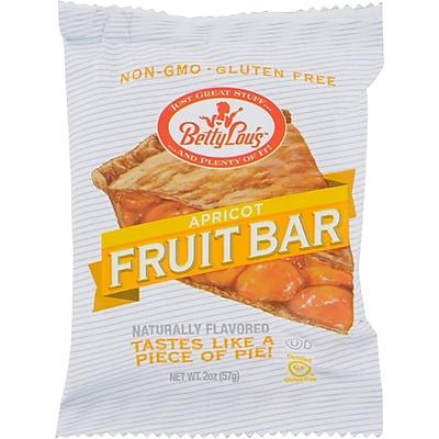 Betty Lou's Fruit Bar Apricot - Gluten Free - Case of 12 - 2 oz