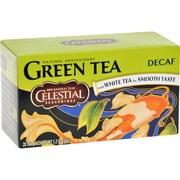 Celestial Seasonings Green Tea Caffeine Free - 20 Tea Bags - Case of 6