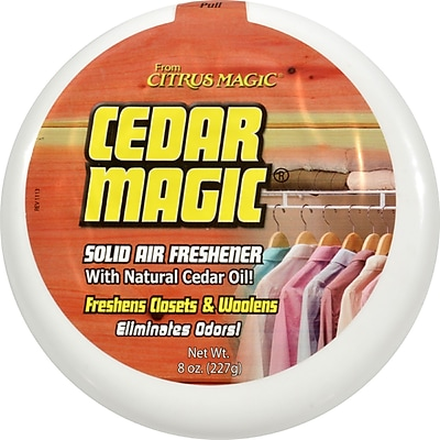 Citrus Magic Cedar Magic Solid Air Freshener