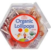 Yummy Earth Organic Lollipops Assorted Personal Bin - 6 oz - Case of 10