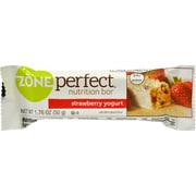 Zone Perfect Nutrition Bar, Strawberry Yogurt, 12/Pack, 1.76 oz