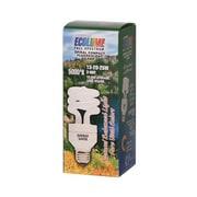 Ecolume Spiral Compact Fluorescent 3 Way Bulb.
