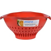 Preserve Large Colander - Red - 4 ct - 3.5 qt
