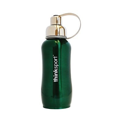 Thinksport Stainless Steel Sports Bottle - Green - 25 oz 2399090