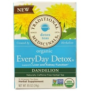 Traditional Medicinals Tea - Organc - EvryDy Detox - Dndln - 16 ct - Case of 6