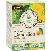 Traditional Medicinals Tea - Organc - Hrbl - Dndln Leaf Rt - 16 ct - Case of 6
